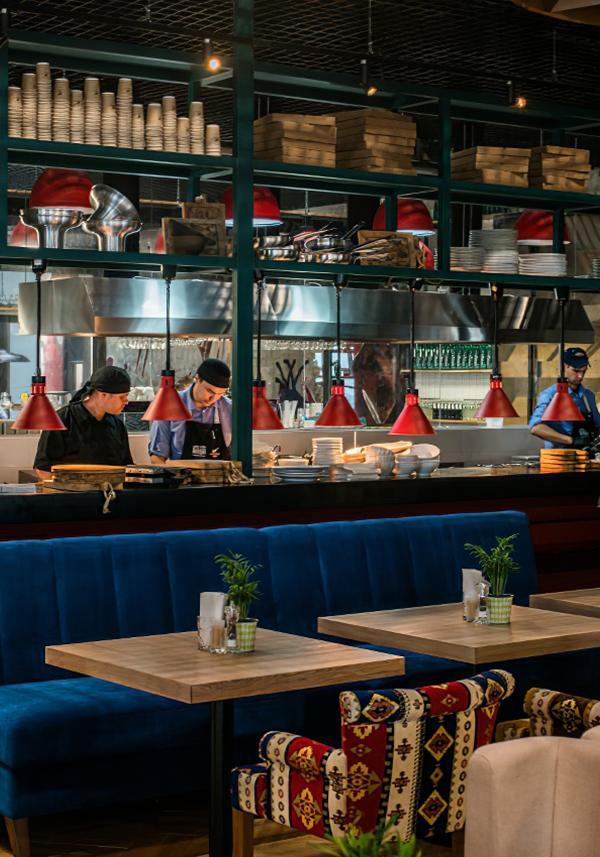 Ресторан Магадан, Колбасный цех в аэропорту Шереметьево.