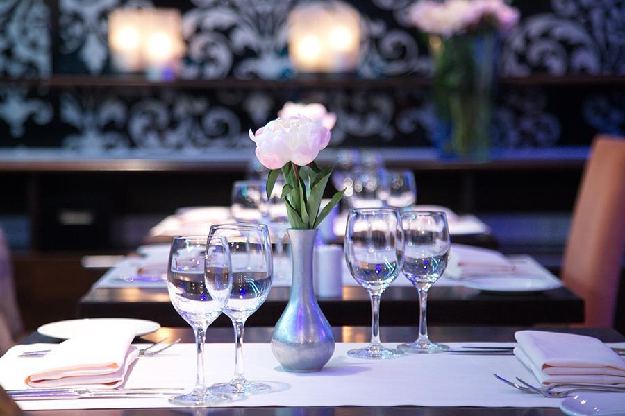 Ресторан в отеле Hilton Garden Inn