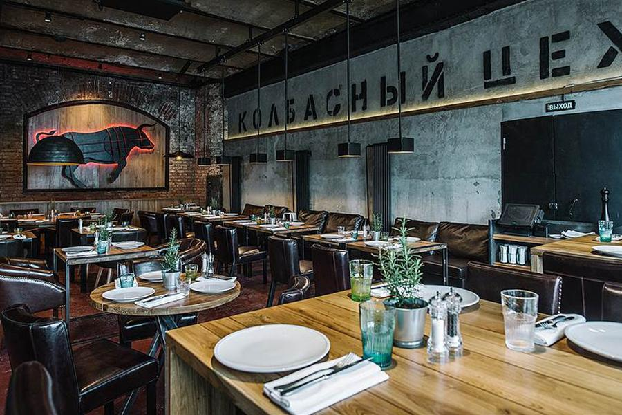 Ресторан Колбасный цех на Бадаевском