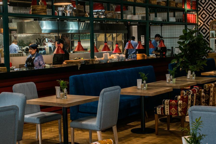 Ресторан Магадан в аэропорту Шереметьево