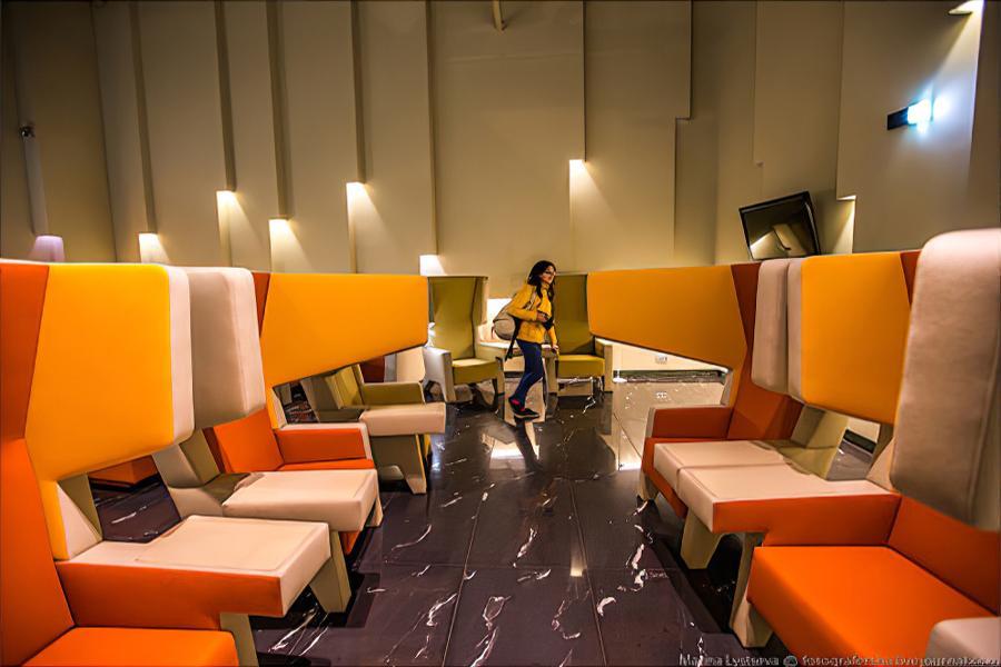 Бизнес-зал «Изумруд» в аэропорту Кольцово
